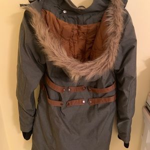Legendary Whitetails Jackets & Coats - Army green winter jacket with faux fur hood